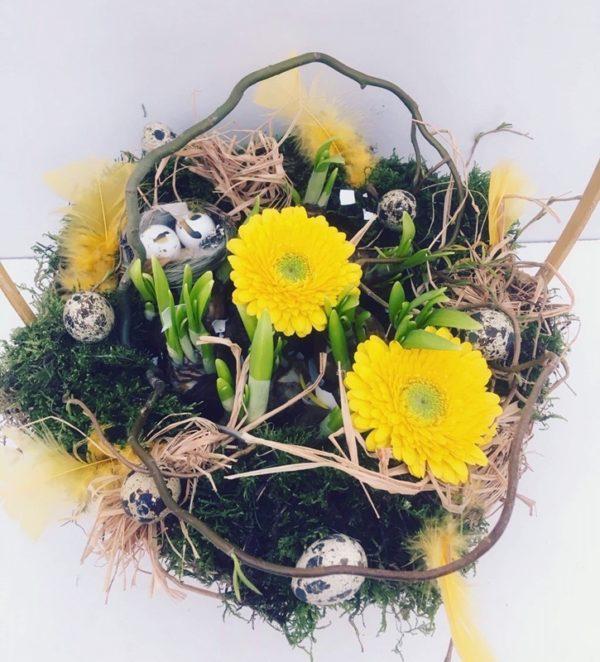 Online kinderworskhop bloemschikken detail